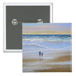 Button ~ Beach Walk