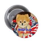 Button - Bella for President
