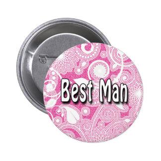 Button: Best Man