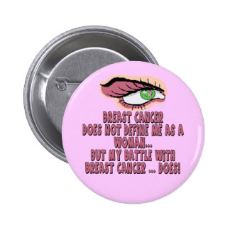 Button - Breast Cancer Battle