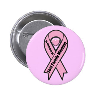 Button - Breast Cancer Family Member
