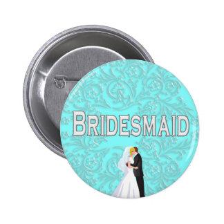 Button: Bridesmaid Button