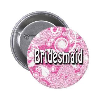 Button: Bridesmaid Pinback Button