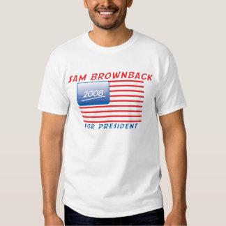 button-brownback t shirt