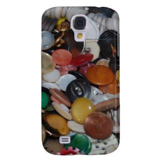 Button Button!! Samsung Galaxy S4 Case