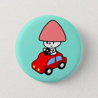 Button - Car - BlueBack