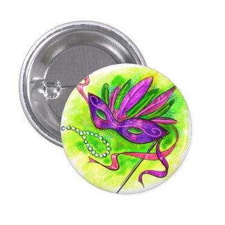 Button Carnival Mask Botón