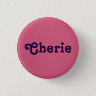 Button Cherie
