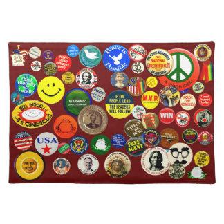 Button Collection - Placemat Cloth Place Mat