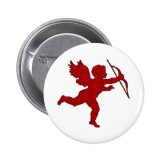 Button Cupid Red