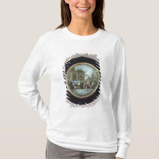 Button depicting the Storming of the Bastille T-Shirt