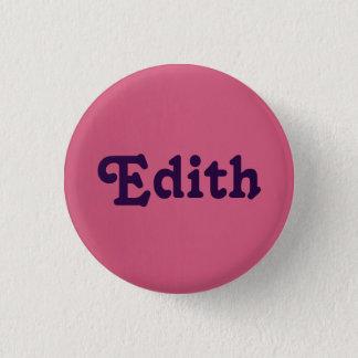 Button Edith