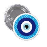 Button-evil-eye 1 Inch Round Button