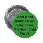 Button-Football Team 2 Inch Round Button