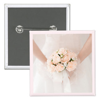 button for bride, for wedding