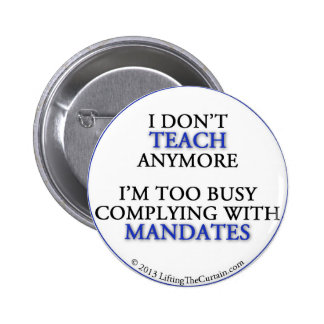 Button for frustrated teachers!