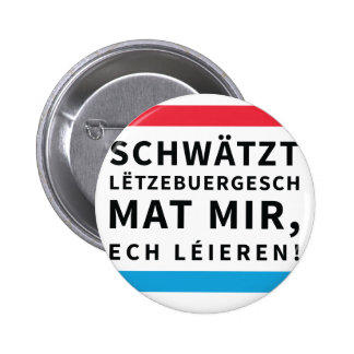 Button for People who Learn Luxembourgish
