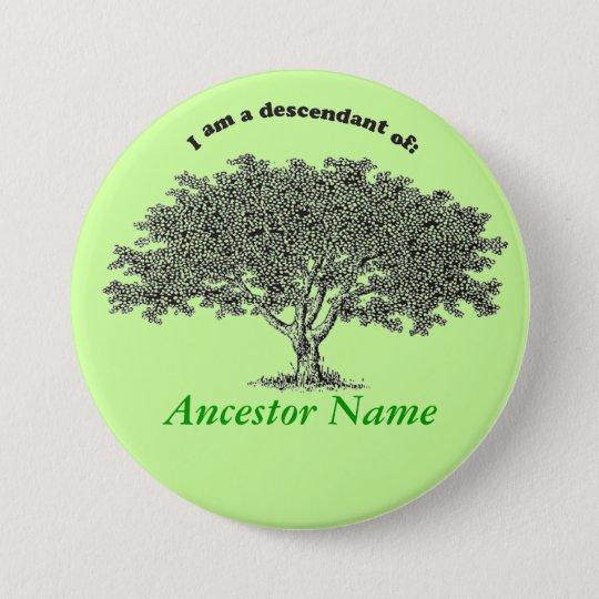 Button - Genealogy Tree