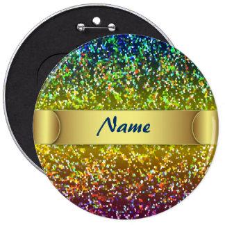Button Glitter Graphic