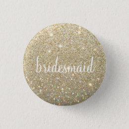 Button - Gold Fab bridesmaid