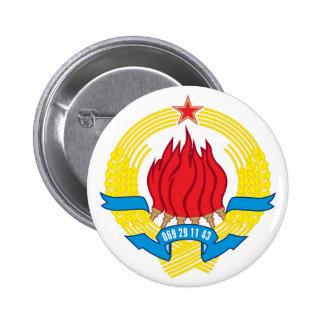 Button Grb SFRJ