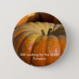 Button:  Great Pumpkin Button