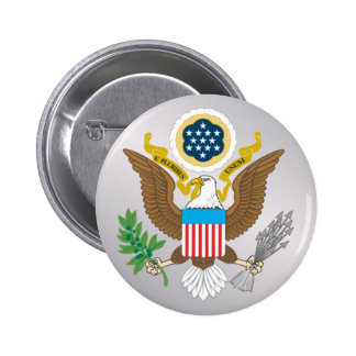 BUTTON_great_seal Pinback Button