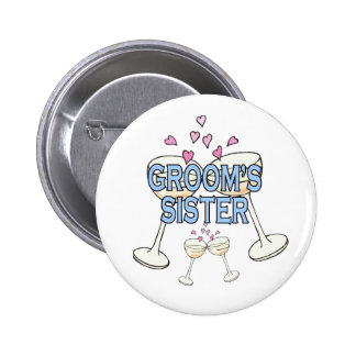Button: Groom's Sister