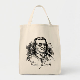 Button Gwinnett Tote Bag