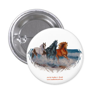 Button, Horses in the Surf II