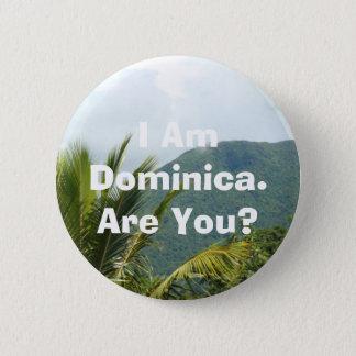 Button -'I Am Dominica'