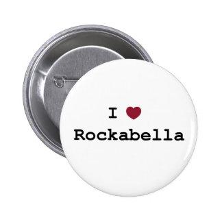 Button i Rockabella love Pin