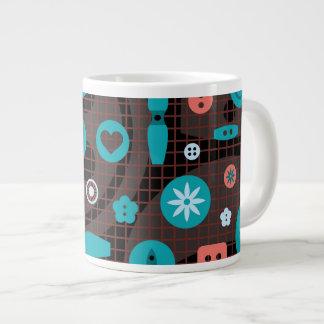 Button It Jumbo Mug