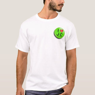 button jesus green T-Shirt
