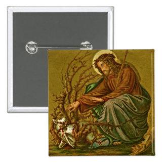 Button: Joshua 1:9 Image Pinback Button