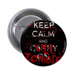 Button Keep calma and kill zombies Pin Redondo 5 Cm