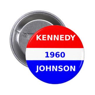 button_Kennedy_And_Johnson_1960 2 Inch Round Button
