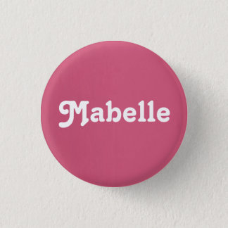 Button Mabelle