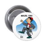 Button: Mazal Tov