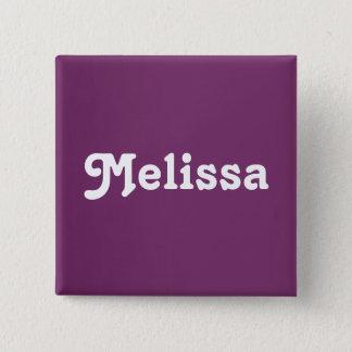 Button Melissa