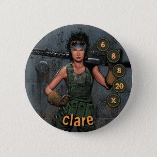 Button Men Soldiers: Clare