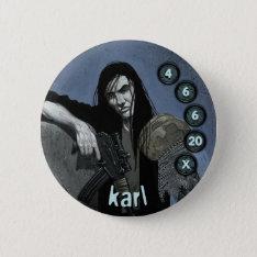 Button Men Soldiers: Karl at Zazzle