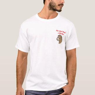 """Button Monkey"" Light T-shirt - Option 2"