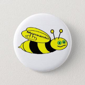 Button Monsanto Bee Flip