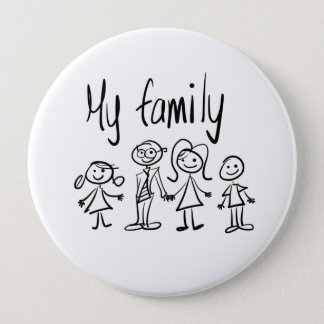 Button - My Family 6