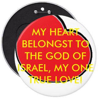 BUTTON - MY HEART BELONGST TO THE GOI...