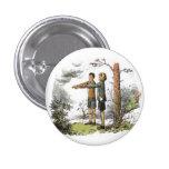 Button (Nárnia) Eustáquio e Jill. Pin Redondo 2,5 Cm