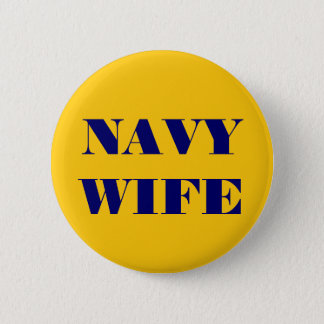 Button Navy Wife