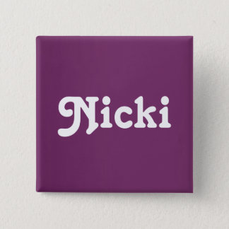 Button Nicki