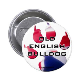 Button Old Bulldog Inglesa Pins